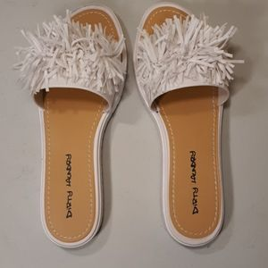 DIRTY LAUNDRY Sandals White Size 10
